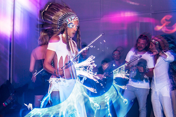 Ibiza Wedding Shows Artists